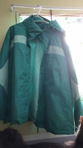 Woman's Winter Coat Size 3x (teal)