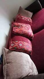 Maroon Sofa