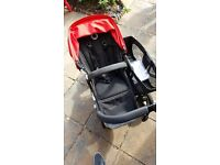 Bugaboo Donkey - 1 Carrycot and 2 Seat units