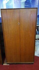 wooden wardrobe/storage cupboard