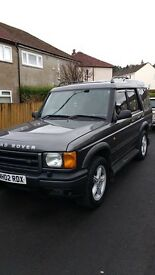 Land Rover Discovery 2.5l (02 Plate)