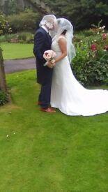 Beautiful Ivory Hilary Morgan Wedding Dress