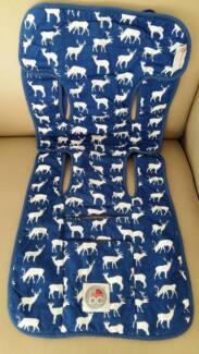 Babychic Designs - Cotton Filled Pram Liner-MIDNIGHT DEER