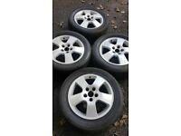 "16"" Audi A6 fits VW, Skoda and Seat alloy wheels (279)"