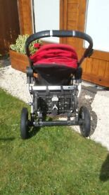 City Jogger City Select Double Buggy