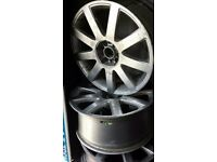 Audi RS4 reps 18 inch fit passat golf vw audi A3 rs6 rs5 r32 tdi s3 gti stretch poke stance euro