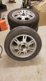 Alloy and tyres x4