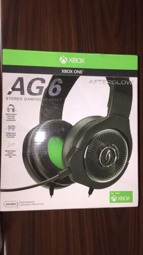 Afterglow AG 6 Wired Stereo Gaming Headset for Xbox One Black 048-103-NA-BK