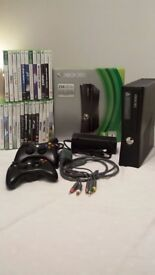 Xbox 360 250GB with 27 games
