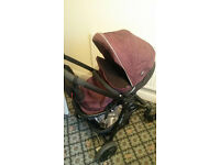 Graco Evo Travel System. Colour Plum. Now reduced - must go