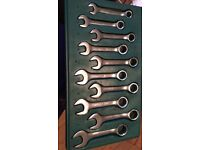 Kamasa Spanner set in box in int condition