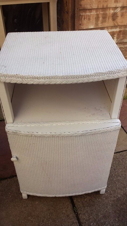 cane bedside cabnet good condition only £5.00