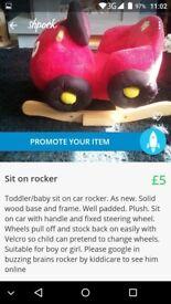 childs car rocker