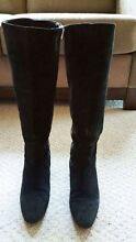 ZARA black long boots size 37 Epping Ryde Area Preview