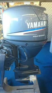 2003 Yamaha F50AETL 50hp Four Stroke Outboard Motor (192hrs) Boondall Brisbane North East Preview