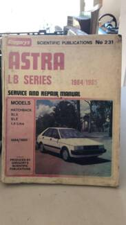 GREGORYS HOLDEN ASTRA LB SERIES SERVICE AND REPAIR MANUAL Morisset Lake Macquarie Area Preview