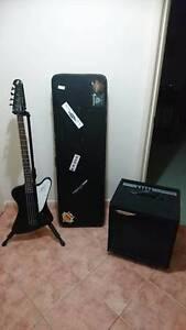 Epiphone Thunderbird IV bass + Ashdown 100W amp + Case + Stand Maiden Gully Bendigo City Preview