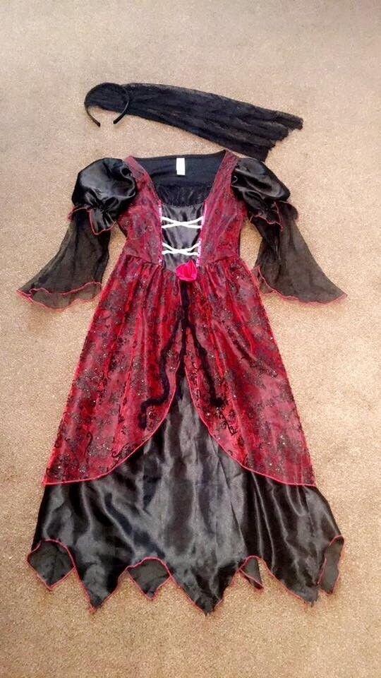 Bride Witch Dress Halloween