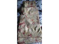 Laura Ashley Malmaison curtains, 90 x 90in