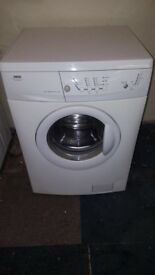 white zanussi 5kg 1500 spin washing machine