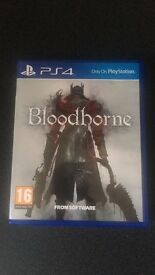 Bloodbourne PS4 - Plymouth