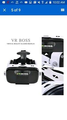 3D Z5 VR boss Virtual reality glasses with Headphone Headset...