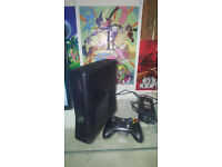 Xbox 360 250GB and 10 £3 games £60