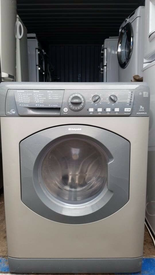 Silver 'Hotpoint' Washer Dryer - Excellent condition / Free local delivery and fitting