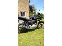 Honda CBF 125 Black, Showroom condition