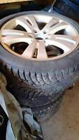 low profile winter tires with rims for Mercedes benz
