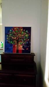 Psychedelic Trees, STUNNING FRAMED PICTURE Maryland Newcastle Area Preview
