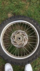 Looking for a rear dirt bike rim SIZE 19x2.15