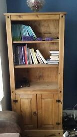 Matching Large Book Shelf and Coffee Table