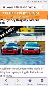 2xVouchers for Drifting School at Eastern Creek Forresters Beach Gosford Area Preview