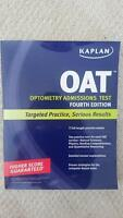 Kaplan OAT (Optometry Admissions Tests) 4th Ed Book