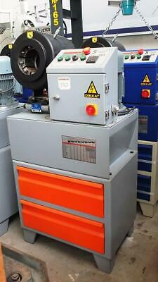 Hydraulic Hose Fitting Crimper Machine 2 Nch Dhl Express Shipping