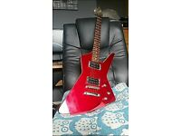 Ibanez Destroyer Blood red glittery