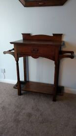 Antique Arts and Crafts Hall Stand by Wylie and Lochhead of Glasgow