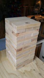 Giant Jenga for event hire