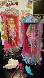 Barbie's glitterizer wardrobe