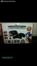 Sega Mega Drive with 80 games built in