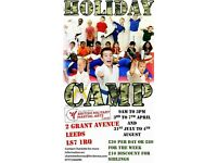 *** MARTIAL ARTS EASTER CAMP