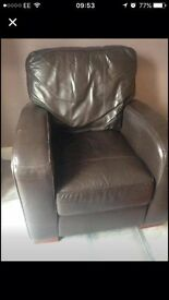 Cosy Leather Armchair