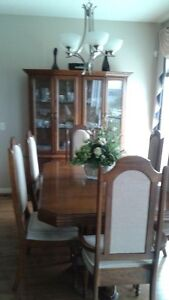 Dining room suite with buffet and hutch