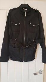 Julien MacDonald black jacket hardly worn size 16