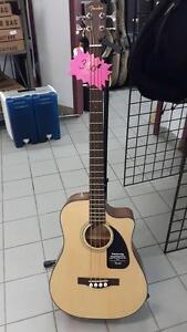 Basse acoustique électrique Fender 0961560021 CB100CE