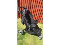 Baby Jogger City Lite with Snack Tray, Parent Console, Footmuff & Rain Cover