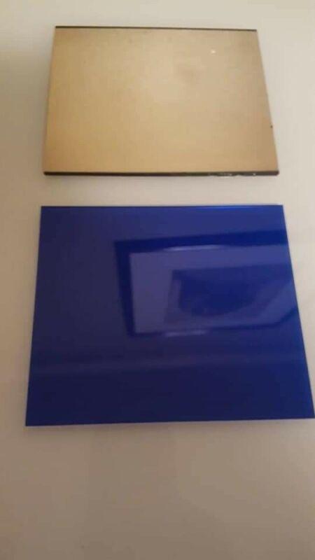 Aulektro EXTREME BLUEWelding lens~ 2 pc set  shade 10 (large 4.5 x 5.25))