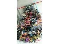 Huge toy collection star wars action man hotwheels batman power rangers trolls wrestling