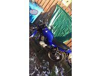 Aj 125e blue great bike